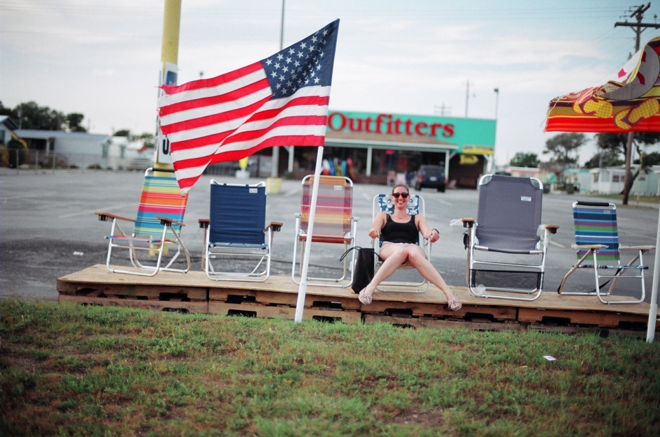 The Great American Shoe - (notice the pink Thunderbirds, not the Alexander Wang bag or Garrett Leight shades), photo by caseyjohnson.photoshelter.com